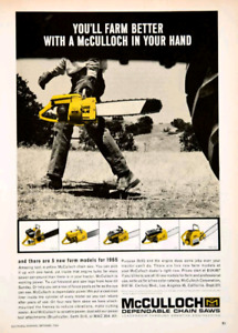 Would like to have Vintage Chainsaws