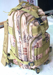 New Survival Camping Backpack Bag Gear Heavy Duty