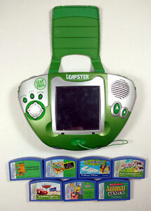 Leapster Educational Gaming System + 7 Games