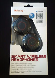 Bzkazy Smart Wireless Headphones - Brand New (Never Used)