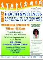 Boost! Workshop to enhance performance naturally
