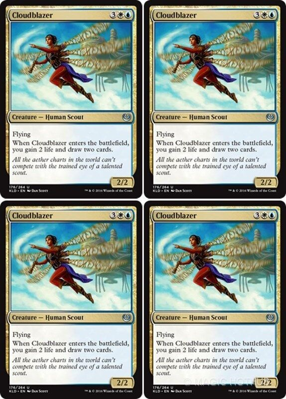 the Multifarious Gold Guilds of Ravnica NM x4 MTG Lazav