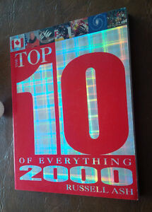 Top 10 of Everything 2000, Russell Ash, Reader's Digest