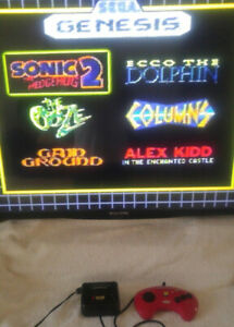 Sega Genesis Plug n Play with 6 Games