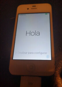 Iphone 4S White Blanc Virgin Mobile 8GB