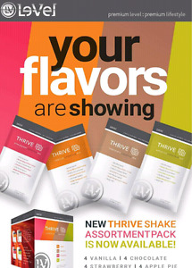 4 awesome shake flavours!