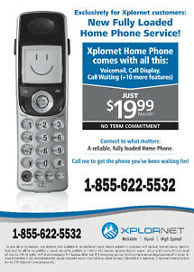 Fully Loaded Home Phone Service starting at $19.99/month*