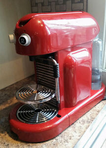 The Maestria Rosso Nespresso machine