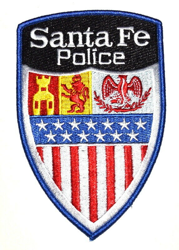 SANTA FE NEW MEXICO NM Sheriff Police Patch ROYALTY LION EAGLE LG ~