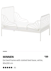 Extendable kids bed