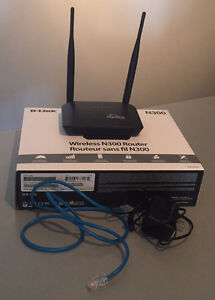 D-LINK DIR-605L WIRELESS N300 ROUTER