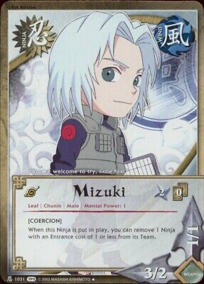 1x FOIL Mizuki 1031 TP2 Naruto CCG TCG NM//M Coercion