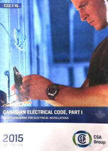ISO 2015 Canadian Electrical Code Book