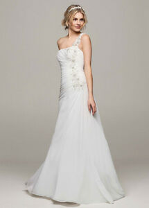 Size 14 Chiffon wedding dress