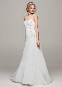 Size 14 Chiffon wedding dress