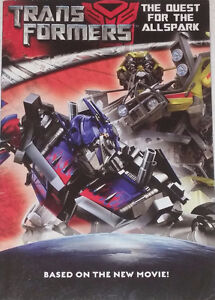 TransFormers The Quest for Allspark Chapter Book