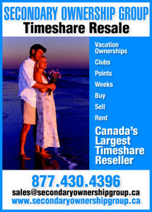 Timeshare Resale - Canadian Company