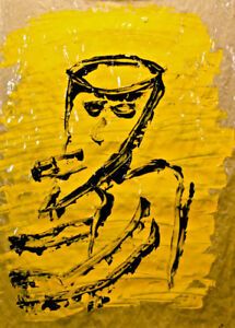 """Original Art - Painting: """" THE OTHER GUY"""""""