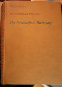 Dictionary or Thesaurus anyone?