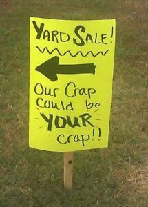 Multiple Family Yard Sale At Ormond Woods Co-Op This Weekend