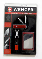 Wenger Travel Card and Esquire Knife Set New