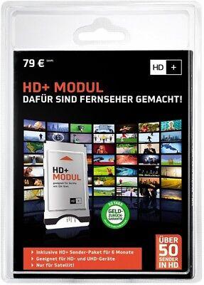 HD+ CI+ Modul inkl. HD+ Karte 6 Monate Ultra-HD NEU & OVP