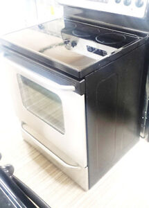 STOVE WITH 5 BURNERS GLASS TOP