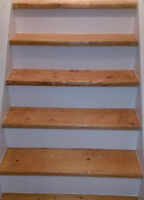 Professional paint and stain services, finish/refinish staircase