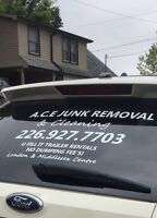 A.C.E JUNK REMOVAL & CLEANING SERVICE