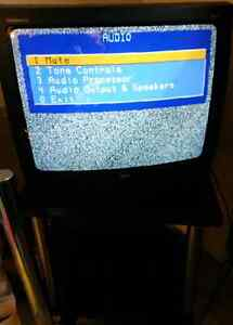 "25"" RCA TV with Remote & Stand"