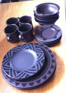 Pfaltzgraff dishes and canister set