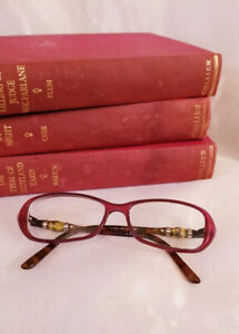 Authentic Made in Italy Gucci Tortoise Shell Eyeglass Frames