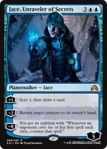 JACE, UNRAVELER OF SECRETS Shadows over Innistrad MTG Blue Planeswalker Mythic R