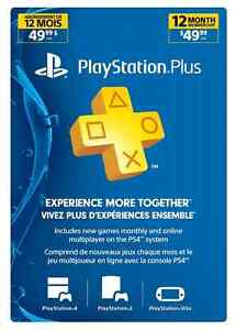PS Plus 12 Month Subscription Card -Live - 12-Month PlayStation