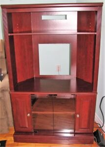 Corner Entertainment Cabinet