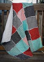 Baby/Crib/Toddler Rag Quilt - new, handmade
