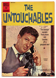 1961 DELL UNTOUCHABLES ELLIOT NESS GANGSTER TV COMIC BOOK