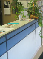 modular reception desk for sale