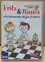 CD-ROM d'apprentissage du jeu d'échecs Fritz & Bianca de Terzio