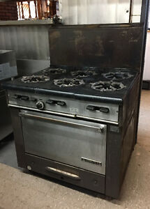 Garland 6 burner gas oven