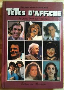 Têtes d'affiche - le grand livre des vedettes (1983)