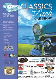 Barrie Thunder Classics presents Classics in the Park