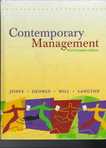 Contemporary Management - First Canadian Edition - Hardcover