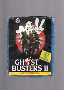 Ghost Busters II opc cartes/cards 48 pqt/box a revoir !!!
