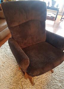Glider, recliner, rocking chair