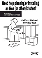 Ikea Kitchen planning and installing.