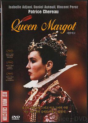 QUEEN MARGOT / La Reine Margot (1994) DVD, NEW!! Isabelle Adjani