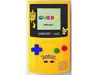 Pikkachu Pokemon Gameboy Colour Nintendo - Rare