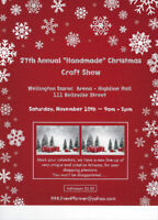 """Artisans wanted - 27th Annual """"Handmade"""" Christmas Craft Show"""