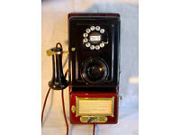 Original Hotel/Apartment complex wall-mounted telephone in lovely condition